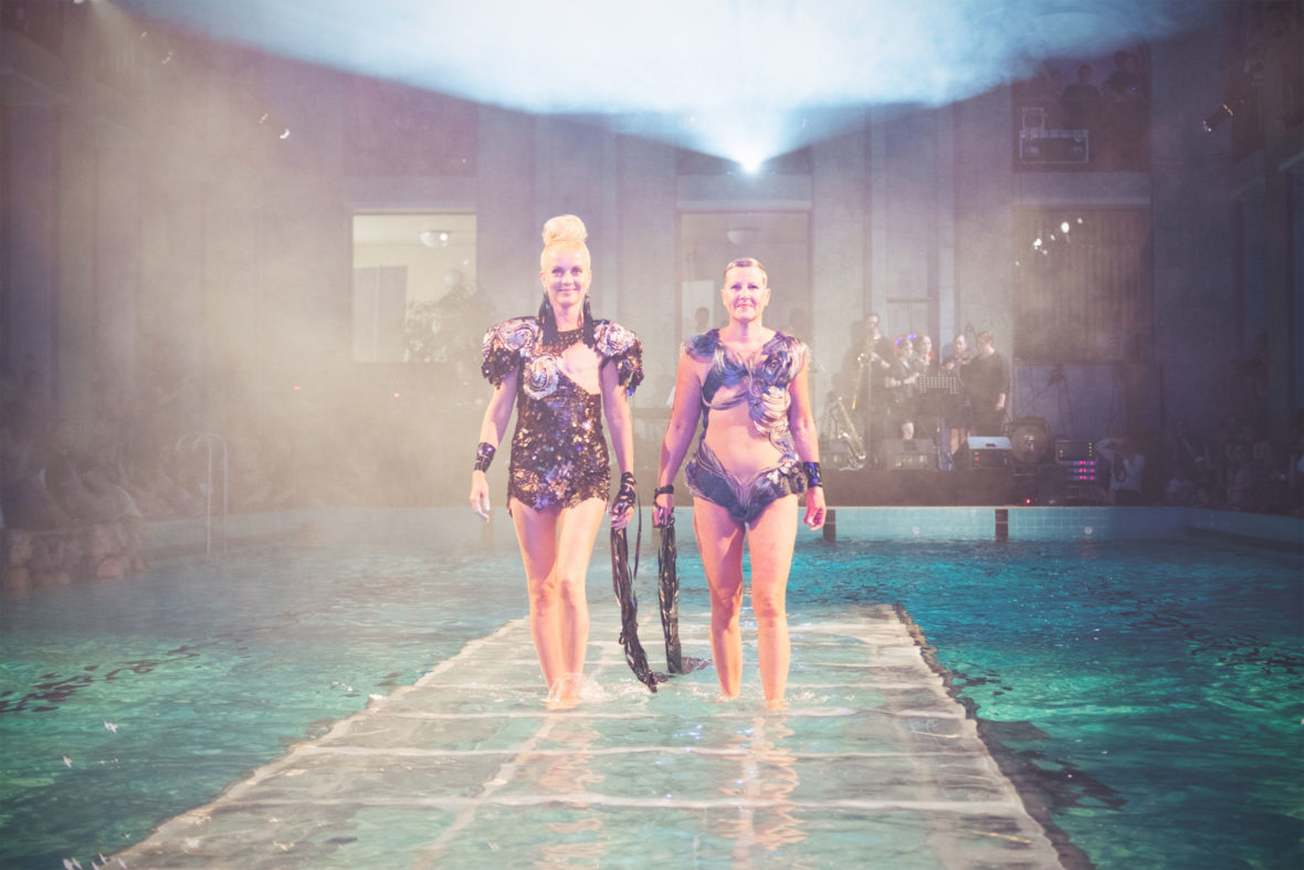 """Monokini 2.o Charity Catwalk Show"", Yrjönkadun uimahalli 2015"