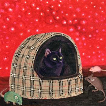 """Teoksen nimi: """" Kissa ja hiiret """""""