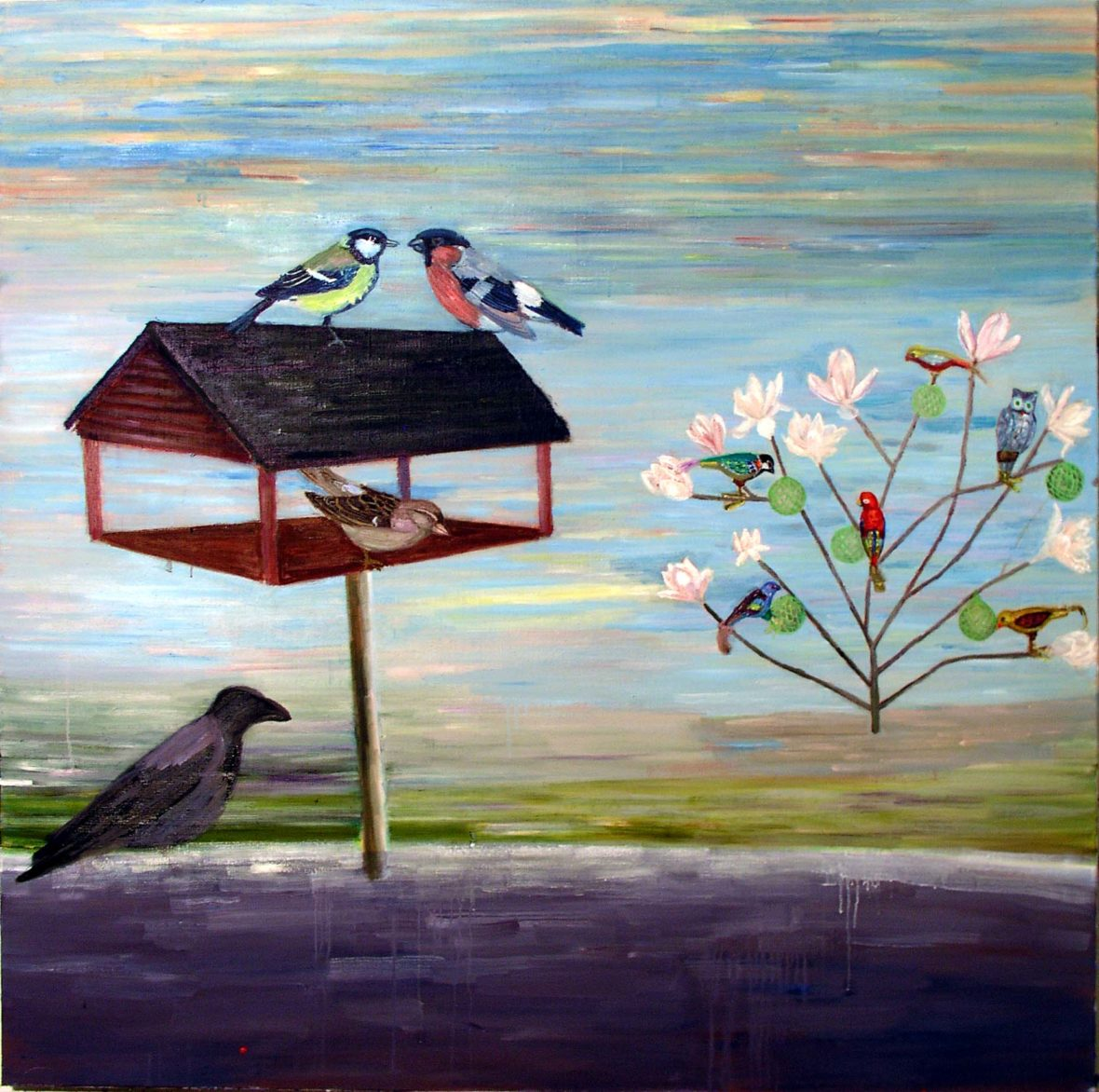 """ Linnut """