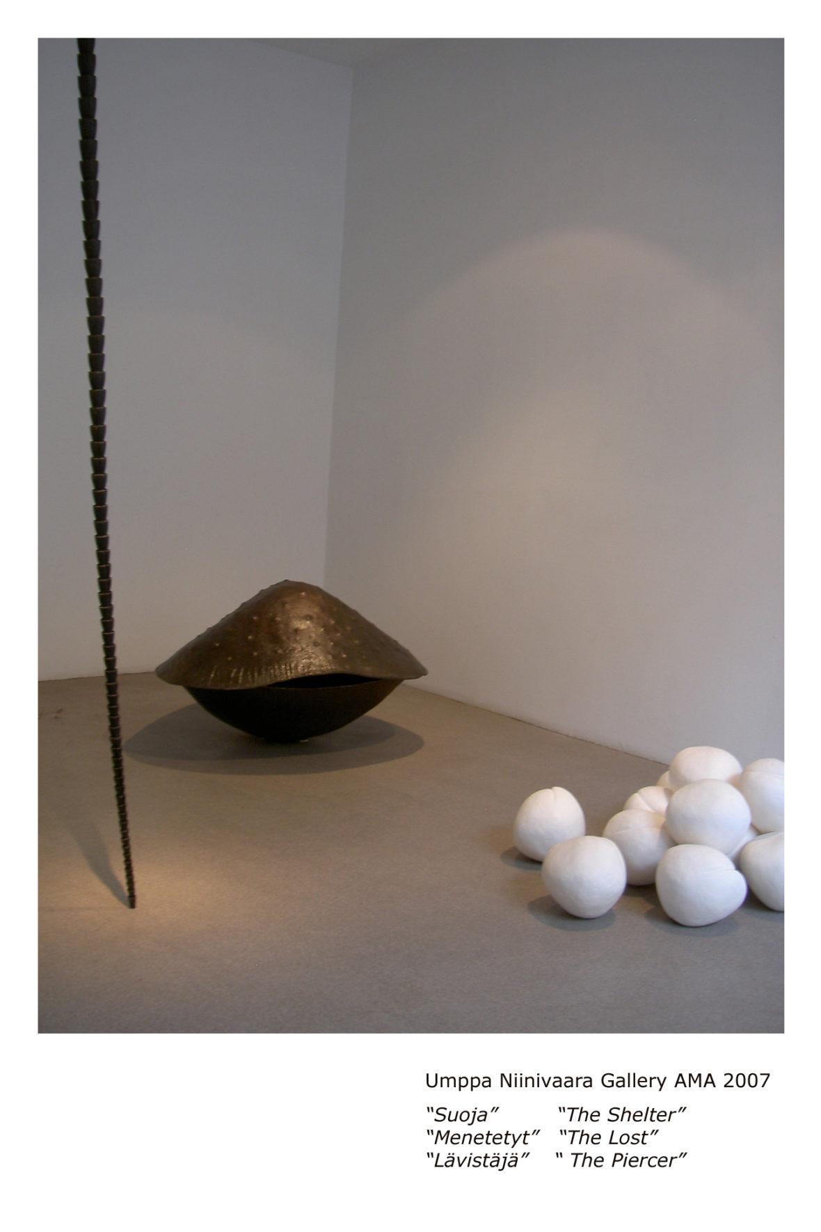 yksityisnäyttely, galleria AMA, Turku,  2007
