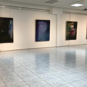 Teoksen nimi: Four paintings maalaussarja