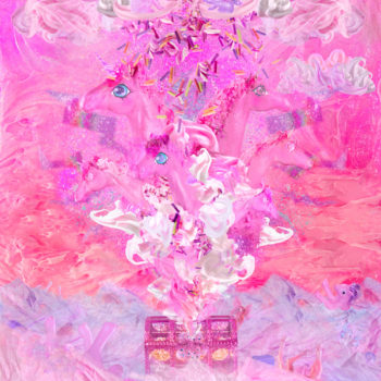 Teoksen nimi: Pink Plastic Apocalypse