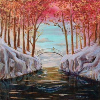 Teoksen nimi: Winter Daydream (Mindscape)