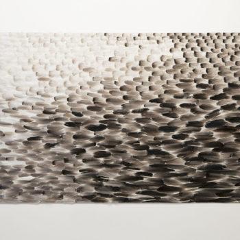 Name of the work: Vesi hanhen selässä