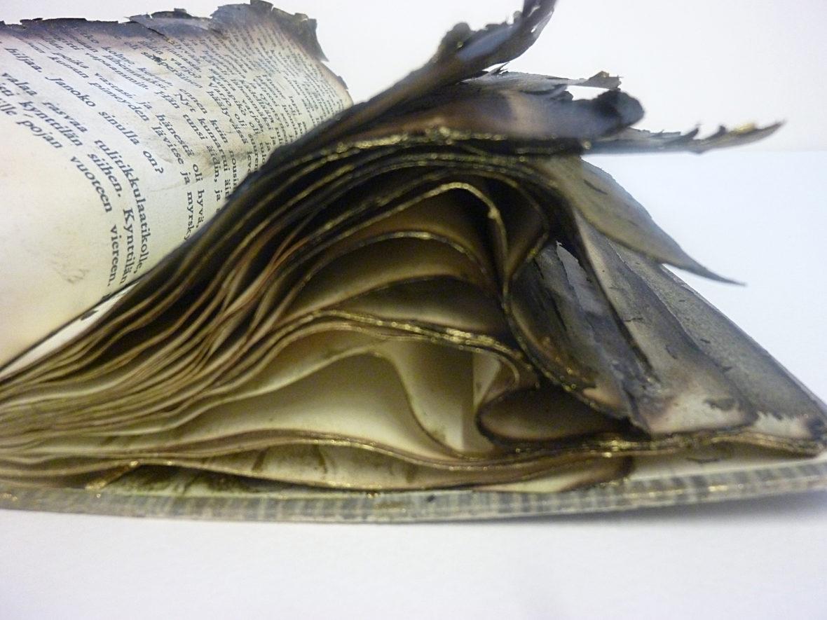 Anteeksi sinulta lainaamani kirja paloi