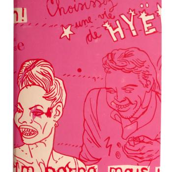 Teoksen nimi: Hyeenakirja /Choisissez une vie de hyëne