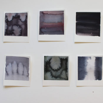 Teoksen nimi: Polaroids without camera