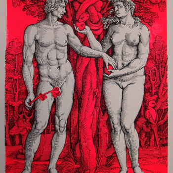 Teoksen nimi: Adam and Eve