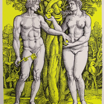 Name of the work: Adam and Eve
