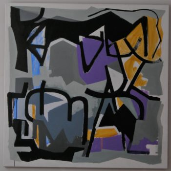 Teoksen nimi: Composition in grey