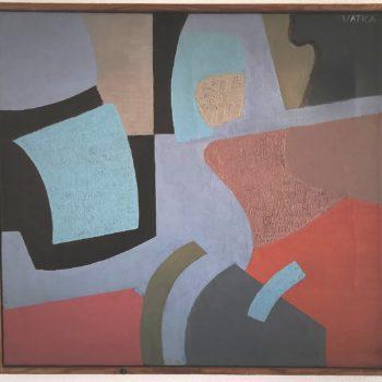 Teoksen nimi: Composition in beige