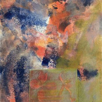 Teoksen nimi: Givernyn puutarhat  III