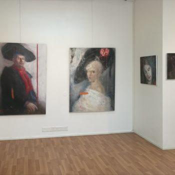 Teoksen nimi: Näyttely, Keskus Galleria 2020