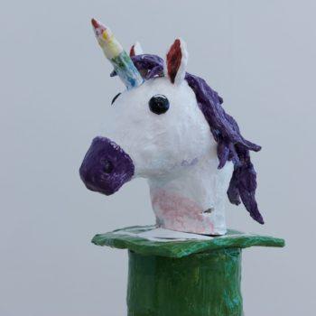 Teoksen nimi: Emoji Unicorn